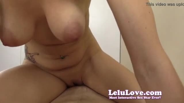 Pov sucking and riding your cock to a big dripping creampie