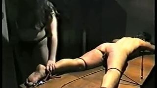 Slave gets tortured whipped and burned